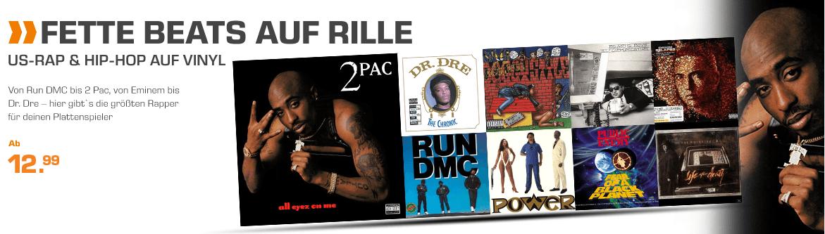 Vinyl !!! US Rap & Hip Hop Aktion ab 12,99 € @ Saturn.DE
