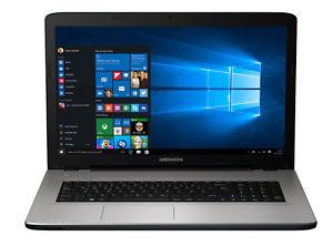 """MEDION AKOYA E7420 Notebook 43,9cm/17,3"""" Intel I3 6100U, 1TB HDD, 4GB Ram, 128GB SSD, HDMI, DVD Brenner, Windows 10 für 349,99€ @ebay.de (Medion B-Ware)"""