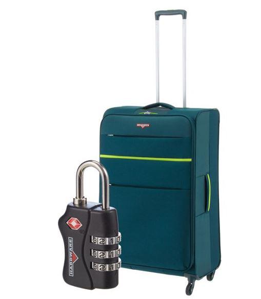 koffer-direkt.de Hardware Revolution 80 cm Trolley mit TSA Schloss 59,95 statt 79,95