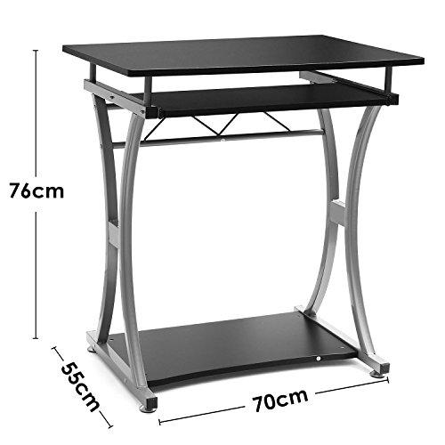 [Amazon] Homfa Schreibtisch / Computertisch mit Tastaturauszug 17,20 € statt 42,90 €