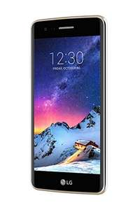 LG K8 (2017) Smartphone, 12,7 cm (5 Zoll) Display, LTE (4G), Android 7,16 GB intern, 1,5 Ram,  13,0 Megapixel, NFC, Fingerprint, gold inkl. Vsk für 132,48 € > [amazon.it]