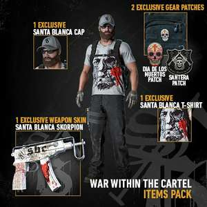 [Twitch Prime] Ghost Recon Wildlands War Within The Cartel-Paket
