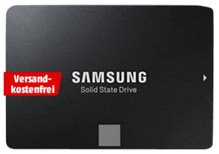 SAMSUNG 500 GB 850 EVO für 149 € bei Mediamarkt @ Ebay und Amazon