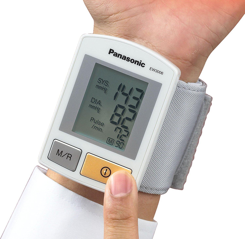 [Amazon] Panasonic Blutdruckmessgerät fürs Handgelenk für 23€ statt 33€