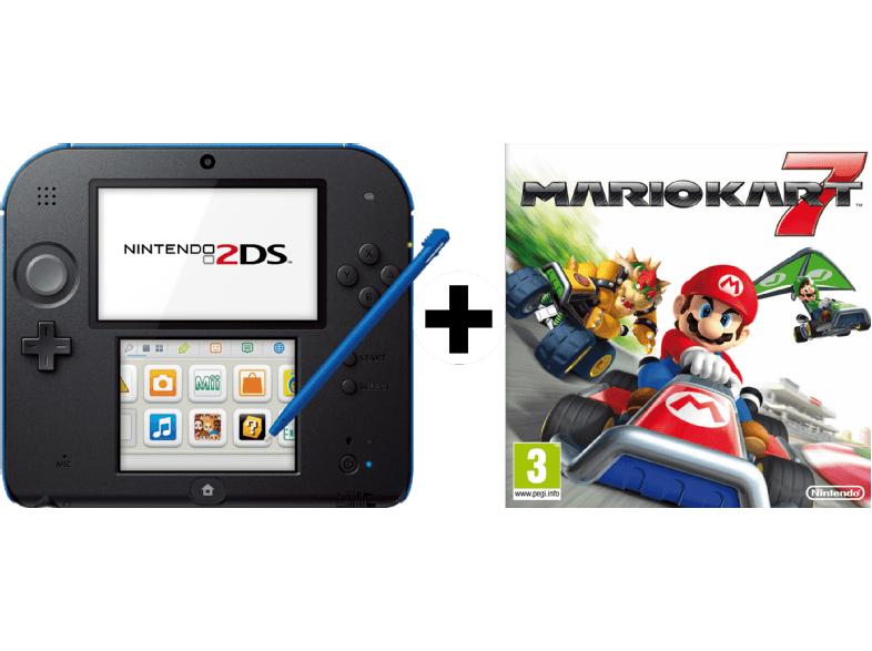 Nintendo 2DS inkl. Mario Kart 7 für 75,50€ inkl. Versand nach DE [Mediamarkt.at]
