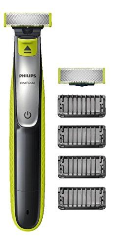 [Amazon Blitzangebote] Philips OneBlade, Trimmen, Stylen, Rasieren / 4 Trimmeraufsätze, 1 Ersatzklinge
