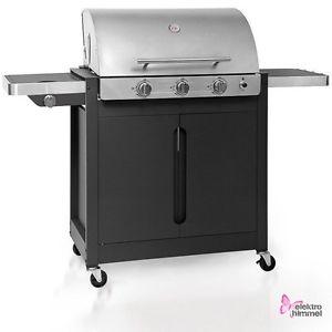 Barbecook Brahma 4.2 Inox XXL Gasgrill Edelstahl-Deckel Seitenkocher max 17,9 kW @ebay 299,99€