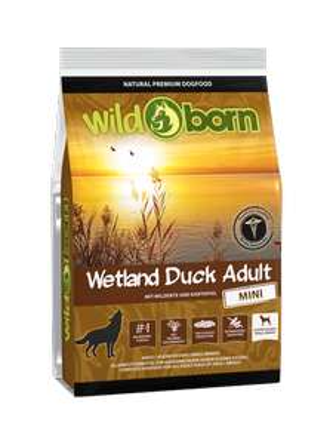 [Wildborn] 500 g WILDBORN Wetland Duck Adult MINI Hundefutter gratis (zzgl. Versand i. H. v. 2,90 EUR)