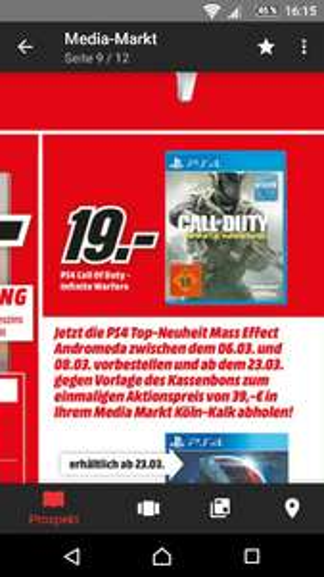 Call of Duty: Infinite Warfare (PS4) Mediamarkt Köln