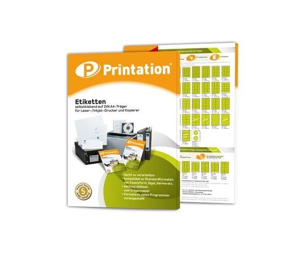 printation.de - Universal-Etiketten mit 50% Nachlass und versandkostenfrei
