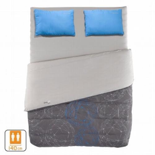 Quechua Luftbett & Schlafsack, SleepinBed 2P 140