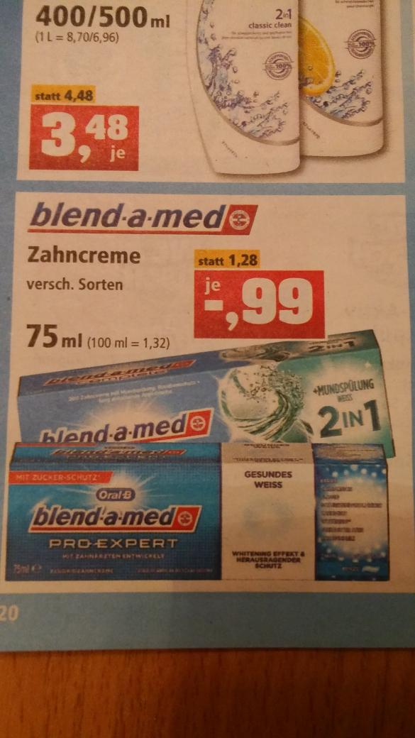 [Philipps Sonderposten] Blend-a-med PRO-EXPERT 75ml 0,99 €