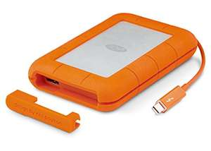 [Amazon Blitzangebote] LaCie Rugged Thunderbolt 500 GB SSD Externe tragbare Festplatte