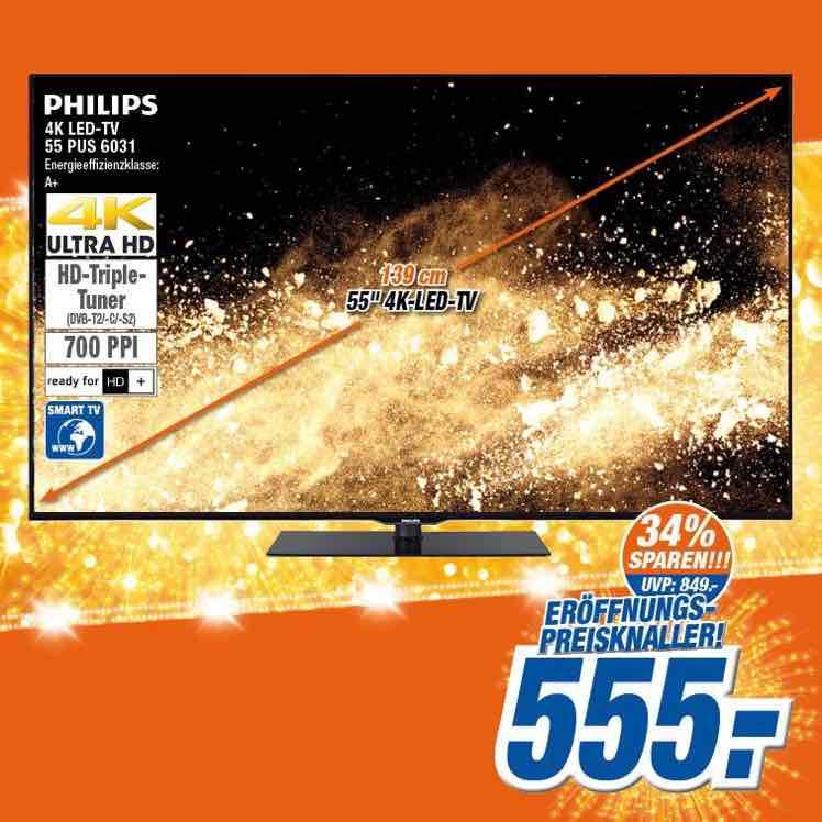"""[Lokal Expert Klein] Philips 55"""" PUS6031 für 555€"""