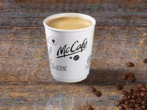 McDonald's: kostenlos 1 Cafe small oder 1x 0,25l Softdrink