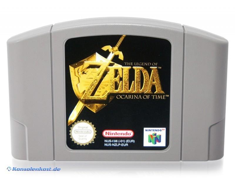 [Konsolenkost] Zelda Ocarina of Time für N64 für nur 19,99€