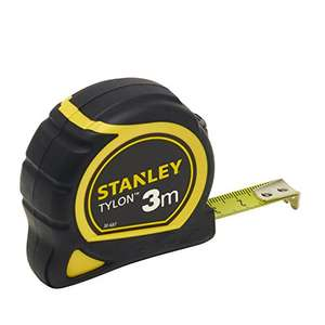 [amazon|MP] Stanley Bandmaß Tylon 3m/1,66€ || 5m/2,35€ || 8m/4,55€ + VSK 4,90€