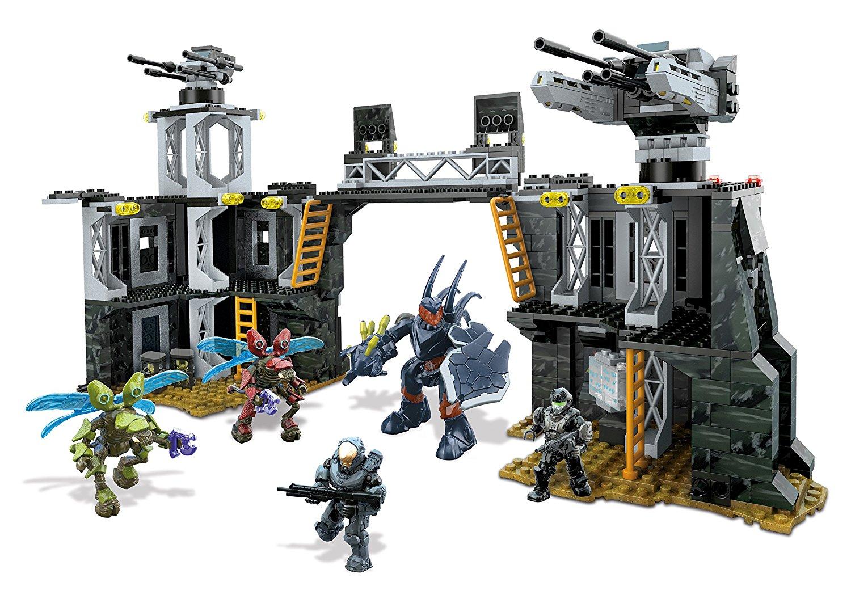 Mattel Mega Bloks CNG69 - Halo - UNSC Firebase, Bau- und Konstruktionsspielzeug
