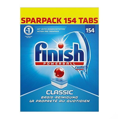 [Amazon Tagesangebot] Finish Classic Sparpack (231 Tabs) (0,07€/Stück)   Auch andere varianten von Somat & Finish Verfügbar!