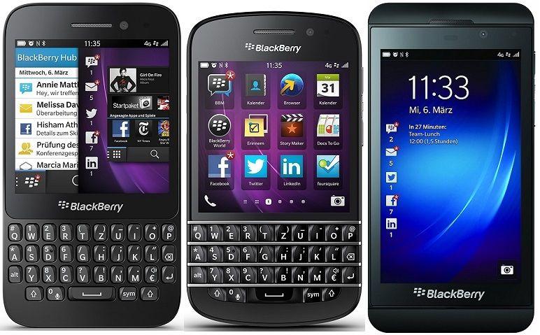 [ebay] RIM Blackberry Q5/ Q10/ Z10 - OS Smartphone ohne Simlock (generalüberholt) in schwarz für je 49,95€