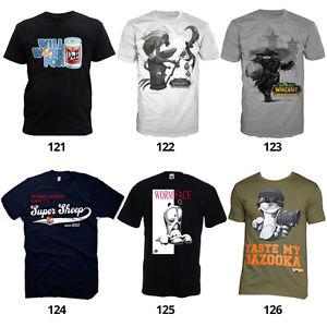 Gaming T-Shirts von Nintendo, Assassins Creed, CoD, u.v.m. (untersch. Größen) für je 9,99€ @ebay.de (Konsolenkost)