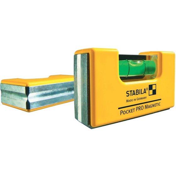 [toolineo] Stabila Wasserwaagen - Pocket PRO Magnetic oder Leichtmetall Typ 70 (40/60/80/100cm) mit mind. 45% Ersparnis