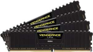 32GB Corsair Vengeance LPX schwarz DDR4-3600 DIMM CL18 Quad Kit 288-pin