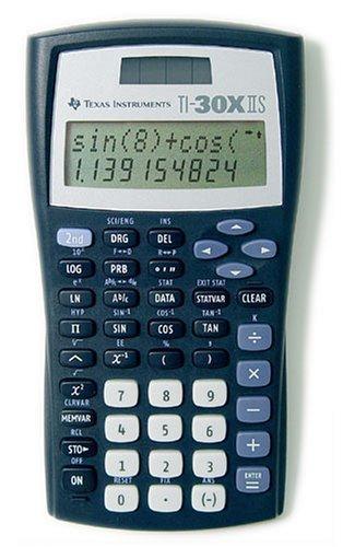 [Amazon] Texas Instruments 30 X II Solar Taschenrechner