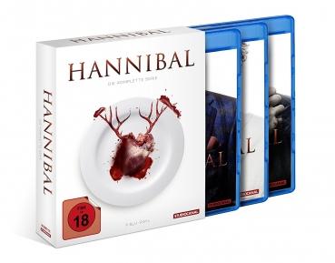 Hannibal - Staffel 1-3 Gesamtedition (Bluray) für 30,94€ [Alphamovies]