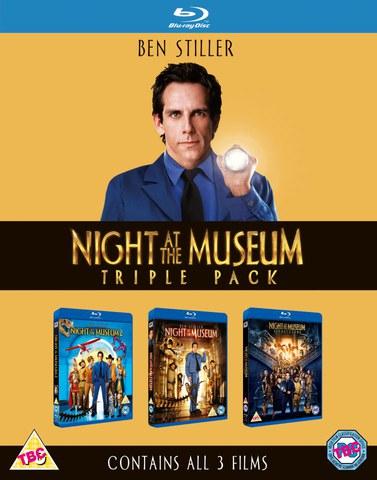 Nachts im Museum 1-3 (Blu-ray) für 10,19€ bei Zavvi