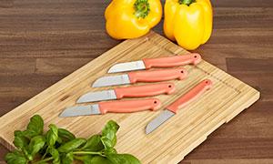 Extrascharfe Küchenmesser, 5 Stück