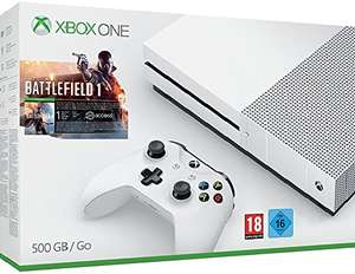 Microsoft Xbox One S mit Battlefield 1 für 255,85€ inkl VSK @ Amazon.fr