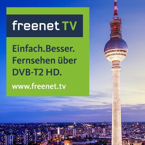 Freenet TV DVB-T2: Private Sender (HD) bis zum 30.06. kostenlos und monatlich kündbar schauen