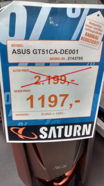 ASUS GT51CA-DE001