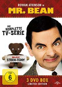 Mr. Bean - Die komplette TV-Serie (Limited Edition, inklusive Strick-Teddy, 3 DVDs) für 9,97€ [Amazon Prime]