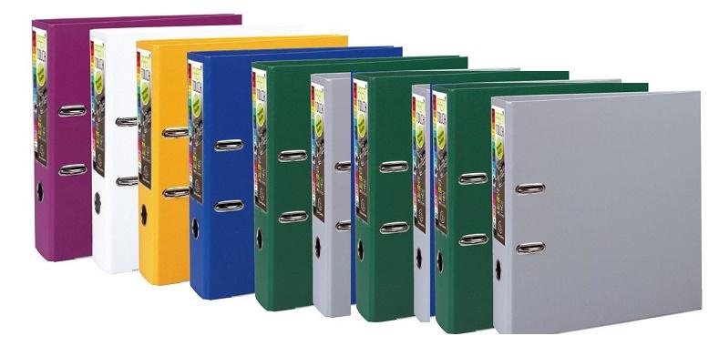 Exacompta 53374E Ordnern (PP, 2 Ringe, Rücken 80 mm, DIN A4) 10er Pack Farben sortiert für 11,93€ inkl. Versand (Amazon.de Prime)