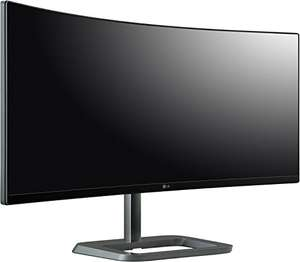 LG 34UC87 (34 Zoll) Curved Monitor 1440p HDMI, DisplayPort, Thunderbolt 2, USB-Hub @ Amazon.it
