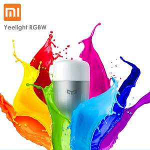 Xiaomi Yeelight RGBW E27 Smart LED bei YOSHOP