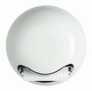 [Amazon WHD] Spirella WC-Papier Rollenhalter, Bowl, weiß glänzend