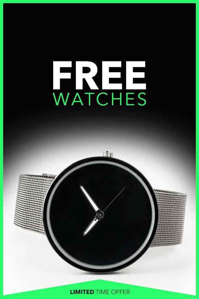 Bachelor's Box Uhren für 9.97 Versandkosten