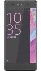 [ebay/ handyshopclever] Sony 1303-0335 Xperia XA Dual-SIM Smartphone (16 GB, 12,7 cm (5 Zoll), HD Display, Android 6.0) graphit schwarz