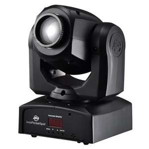 [recordcase.de] ADJ Inno Pocket Spot LZR - Mini-Moving Head mit kaltweißer 12 W-LED