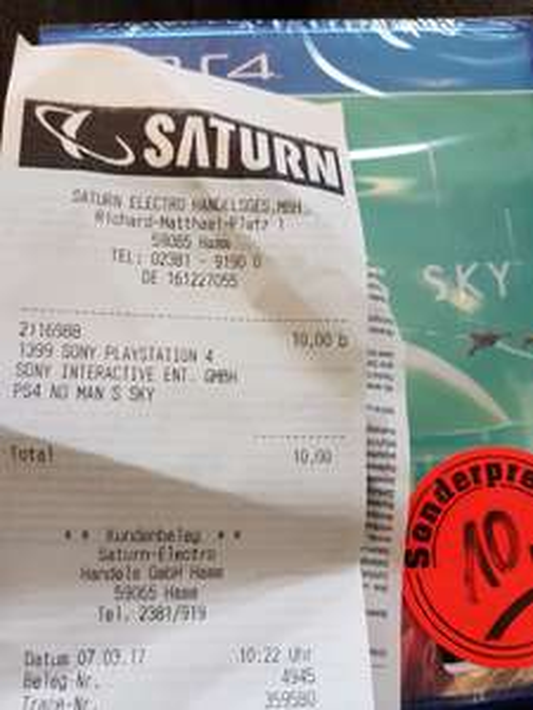 No Man Sky (Ps4) für 10€ - Lokal Saturn Hamm