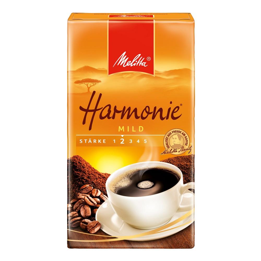 Kaffee Melitta Harmonie mild gemahlen, 500g bei eoffice24.com