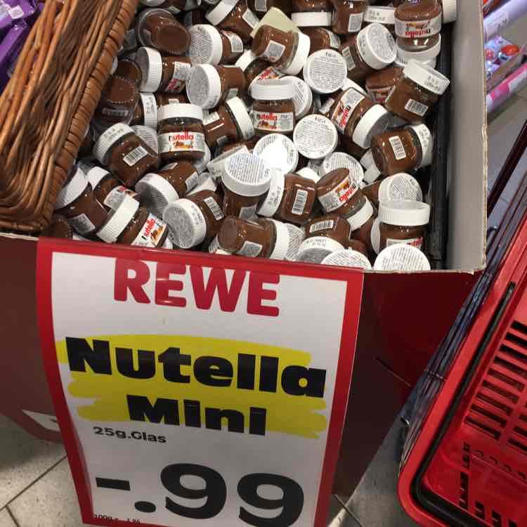 [lokal] Nutella für 0,99€ bei REWE