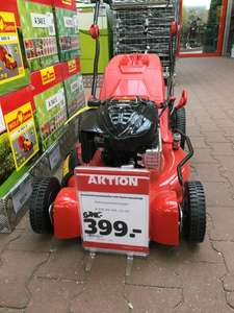 [Lokal hagebau NE] WOLFF Benzinrasenmäher A 530 AV HW
