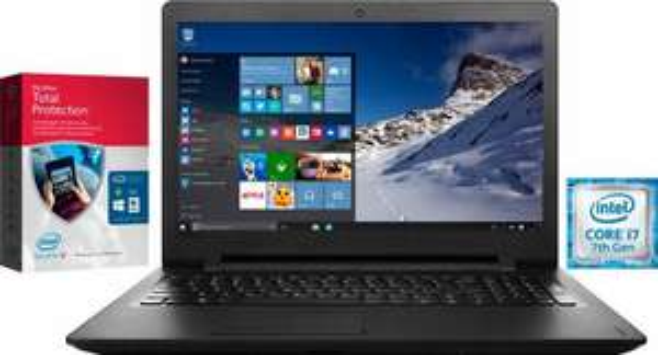 """Lenovo IdeaPad 110-17IKB: 17,3"""" HD+, Intel Core i7-7500U, 8 GB DDR4 Ram, 1TB HDD, DVD-Brenner, Wlan ac + BT, Win 10 für 599,99 (OTTO)"""