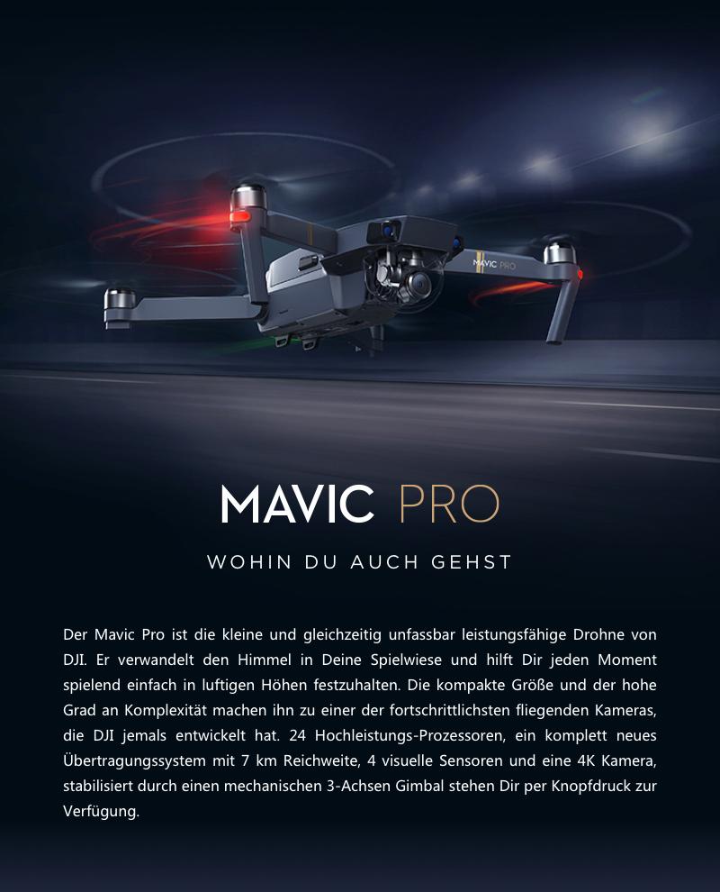 DJI Mavic Pro (Versand aus DE)