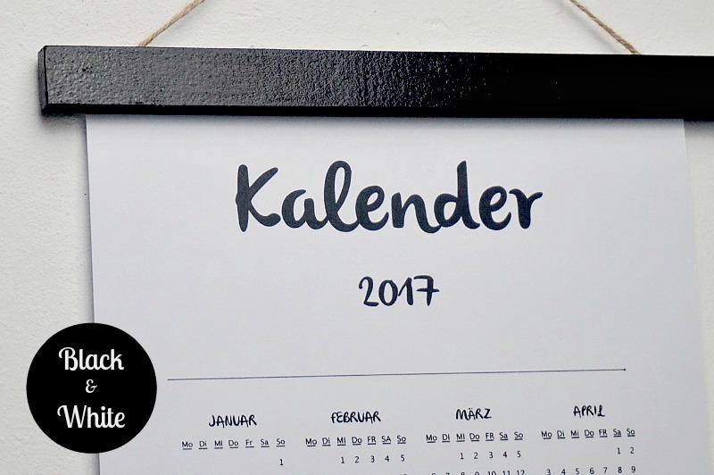 Galeria Kaufhof (offline): Jahreskalender 2017, 80 bis 90% reduziert ab 1,00 Euro