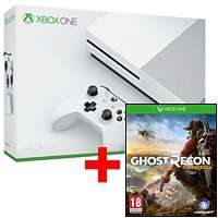 Xbox One S 1TB Konsole + Tom Clancy's Ghost Recon® Wildlands für 279€ (Saturn)